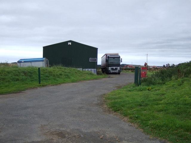 Farm building, Newmains