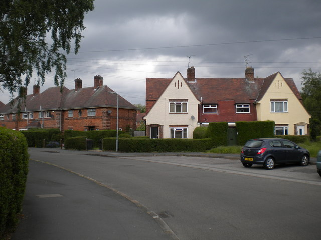 Houses on Boundary Road, Lenton Abbey estate
