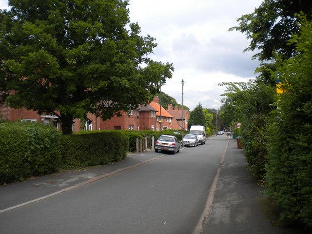 Baslow Drive, Lenton Abbey estate