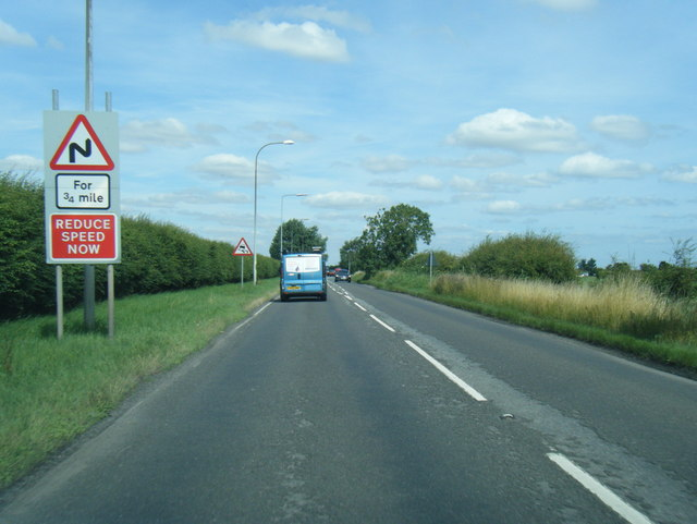 A52 north of Rectory Lane junction