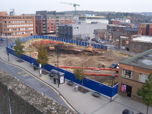 Jurys Inn building site