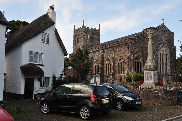Thorverton : St Thomas a Becket's Church