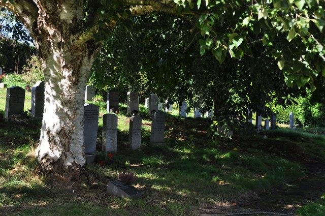 Thorverton : St Thomas a Becket's Churchyard