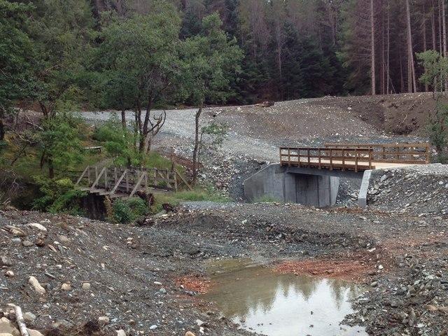 Bridges over The Cour, Leanachan Forest