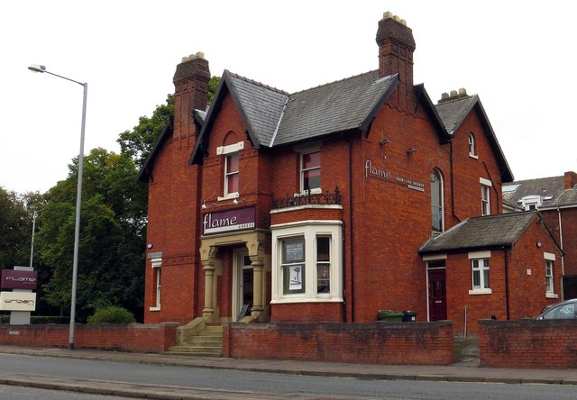 Flame hair and beauty studios on Blackpool Road