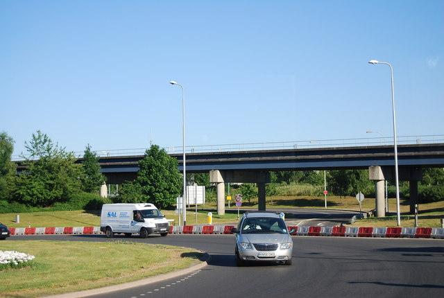 Outside Gatwick, North Terminal