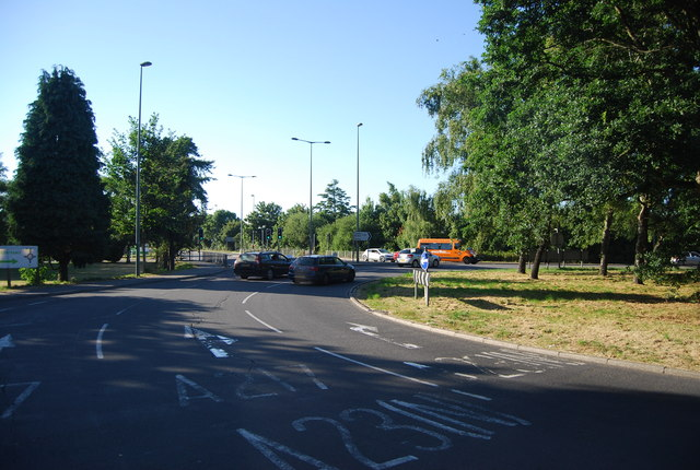 Roundabout, A23