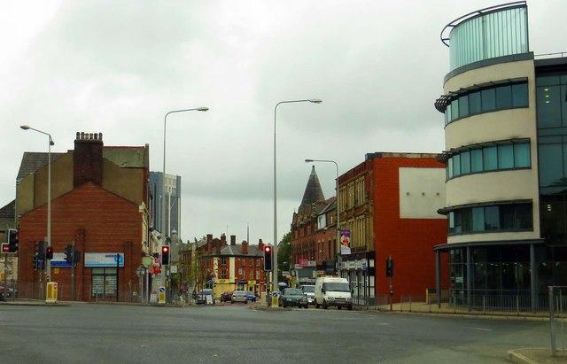 Preston New Road in Blackburn