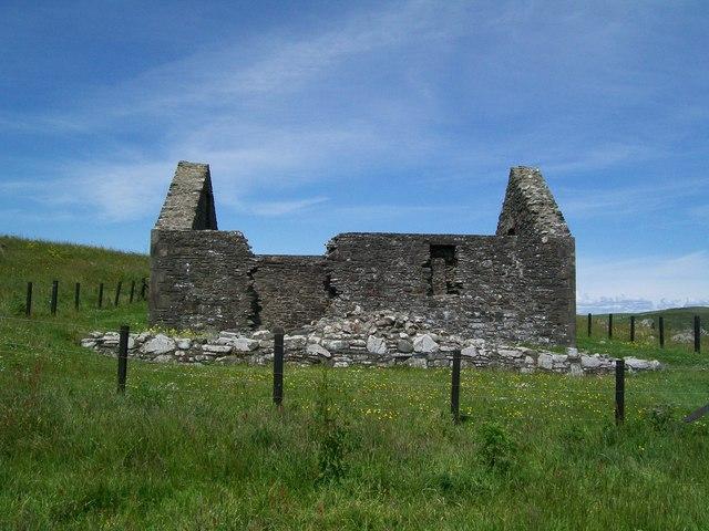 St Ninian's Chapel. Isle of Whithorn