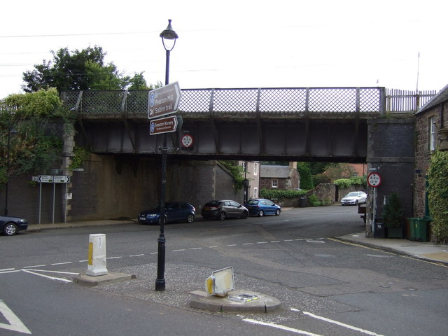 Railway bridge over Station Road
