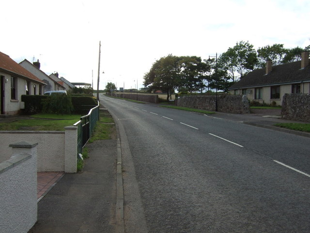 Haddington Road (B1407), East Linton