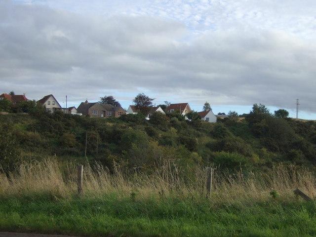 Hilltop houses near East Linton