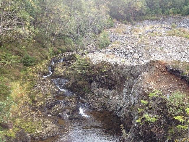 Allt Choille-Rais, Leanachan Forest