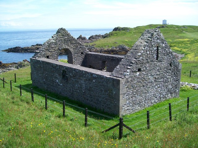 St Ninian's Chapel. Isle of Whithorn