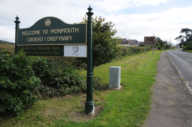 Welcome to Monmouth/Croeso i Drefynwy