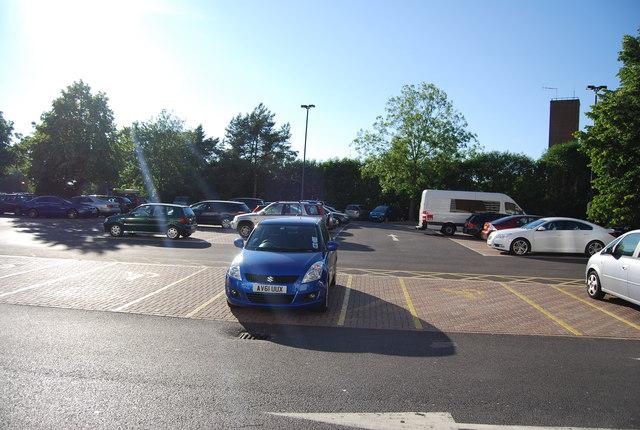 Gatwick Travelodge car park