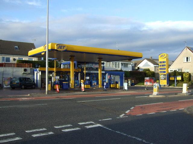 Service station on Belhaven Road