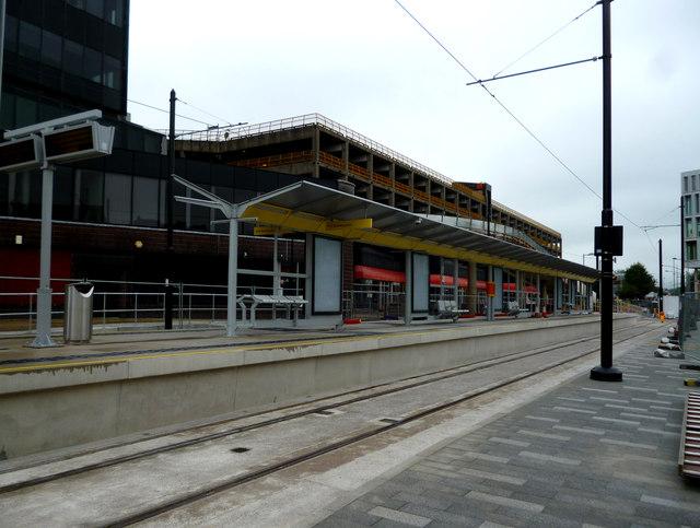 Rochdale:  Central Metrolink station
