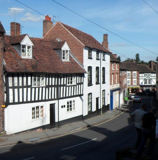 Welch Gate houses, Bewdley