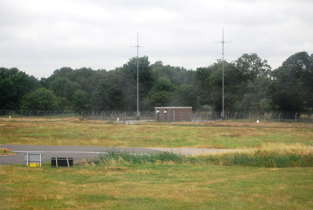 Small building by the runway, Gatwick