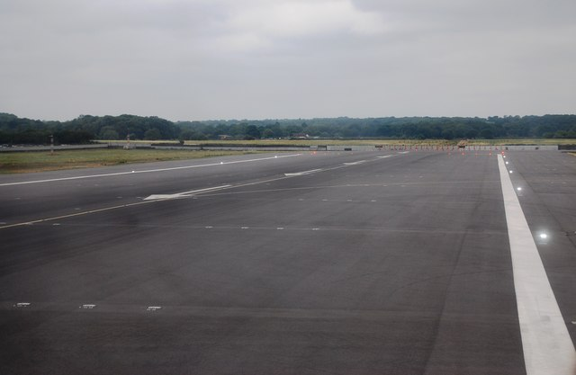The end of the runway