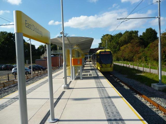 East Didsbury:  Metrolink terminus
