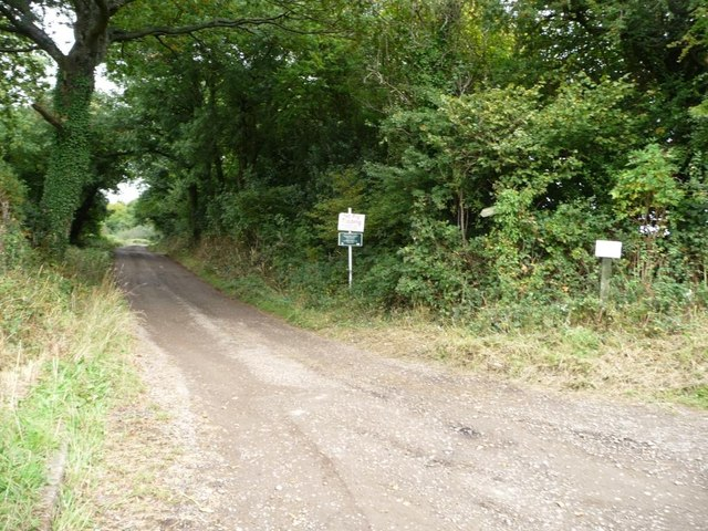 Public footpath into Trostra Common