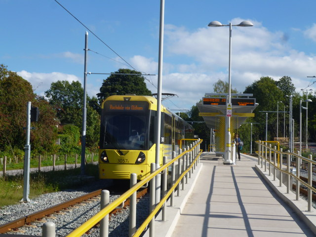 East Didsbury:Metrolink station