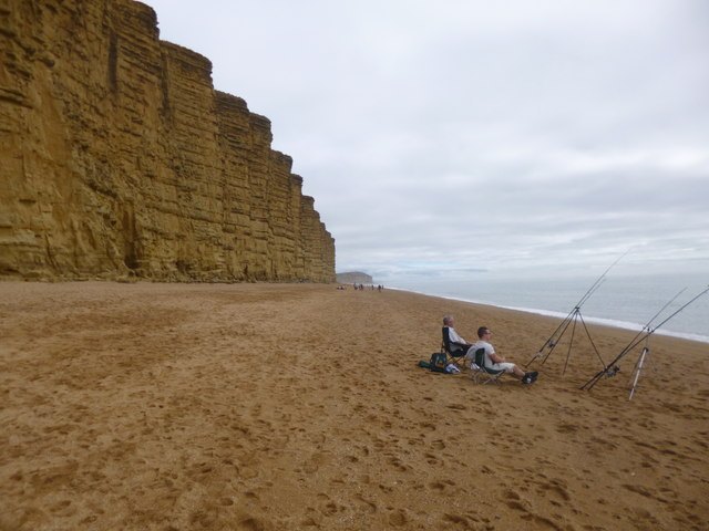 West Bay, sea angling