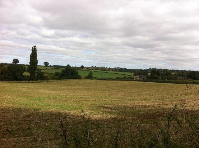 Farmland near Harlestone