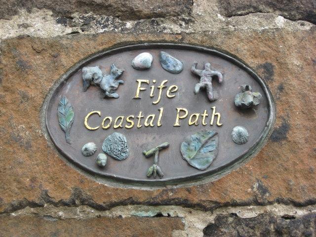 Wall Plaque - Fife Coastal Path