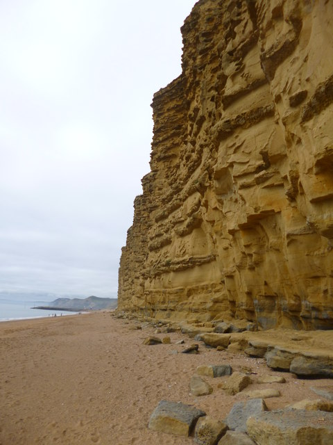 West Bay, East Cliff