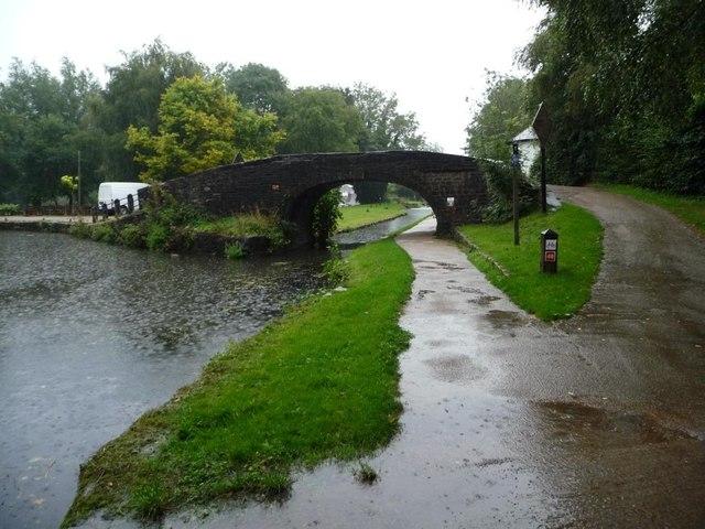 Bridge 52 on a rainy afternoon