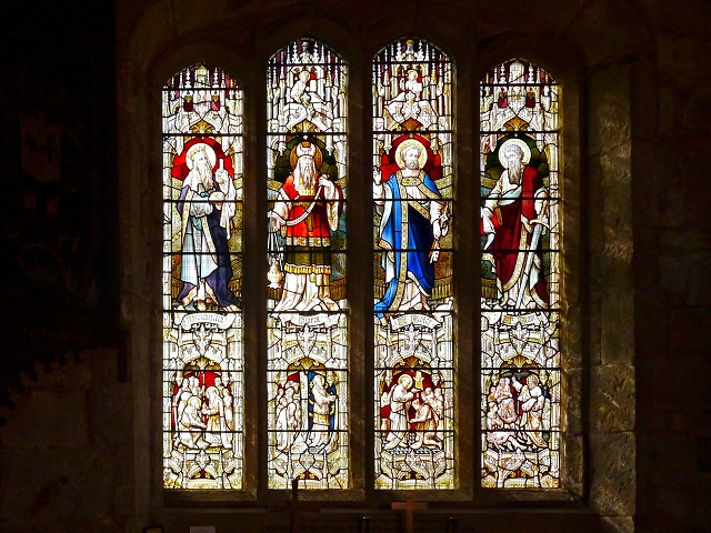 St Leonard's Church, Middleton (Stained Glass Window)