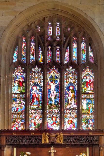 East Window, Middleton Parish Church