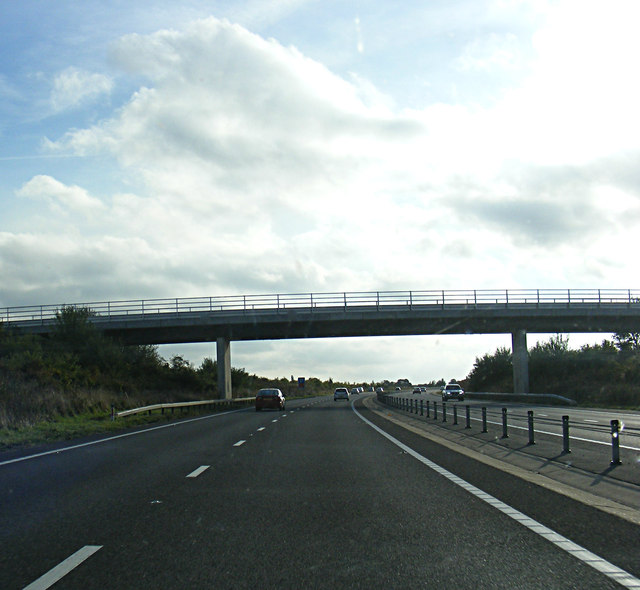 A421 Great Barford Bypass & the Woodend Lane Bridge
