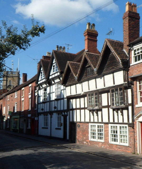 High Street houses, Bewdley