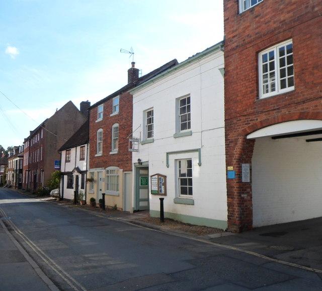 High Street entrance to Bewdley Baptist Church