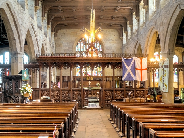 The Parish Church of St Leonard, Middleton