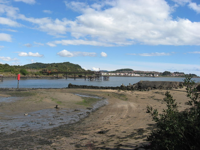Entrance to Inverkeithing Harbour