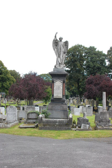 In Ilford Cemetery