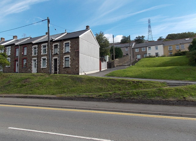 Park View Street houses Waunlwyd