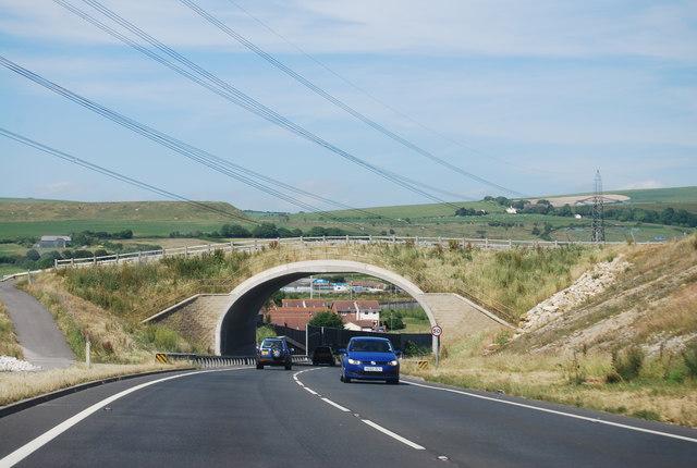 Bridge over the A354