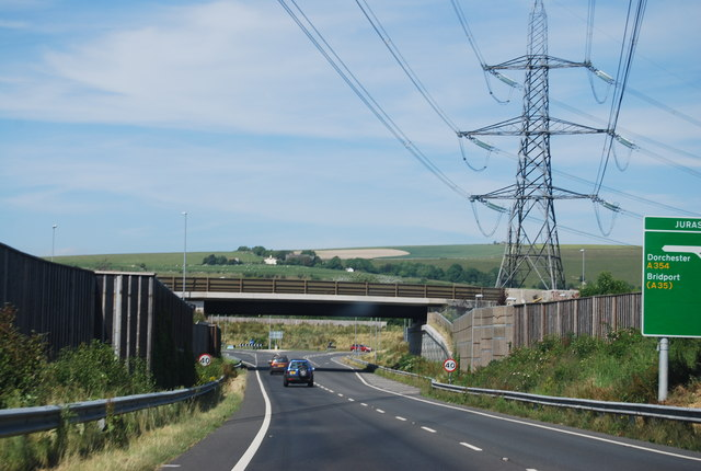Littlemoor Rd Bridge, A354