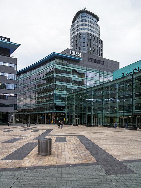 BBC studios, Media City