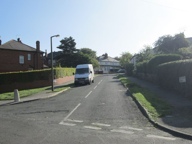 Gipton Wood Avenue - viewed from Upland Grove