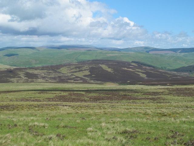 Moorland west of Spring Crag
