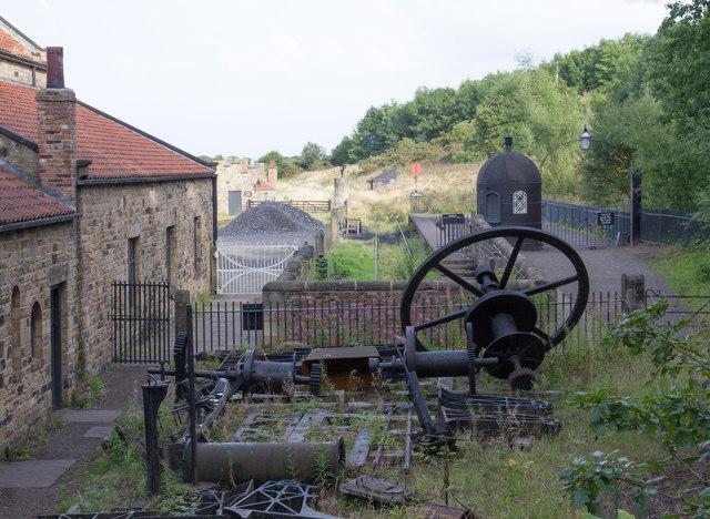 Pockerley Waggonway at Beamish Museum