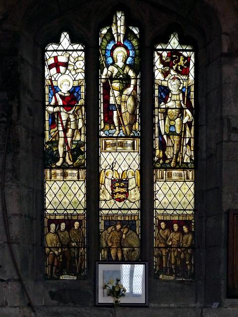The Boer War Memorial Window, St Leonard's Church