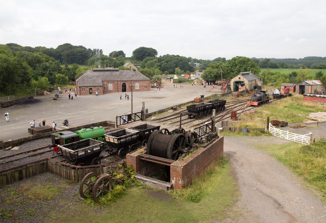 The Colliery at Beamish Muesum